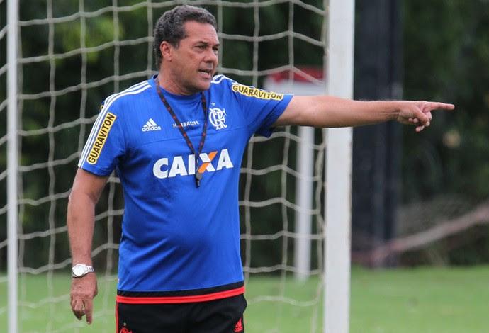 Luxemburgo, Flamengo treino (Foto: Gilvan Souza/Flamengo)