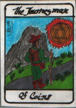 A tarot card I drew