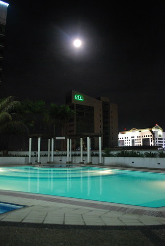 From pool side at 360 at night