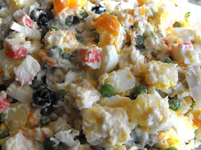 Salada de peixe