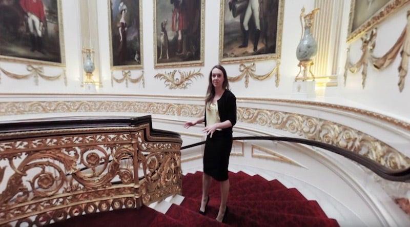 Ahora puedes visitar el Palacio de Buckingham sin colas ni cacheos con este vídeo de 360º