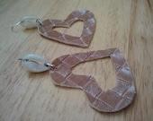 Wadada Earrings (faux leather)