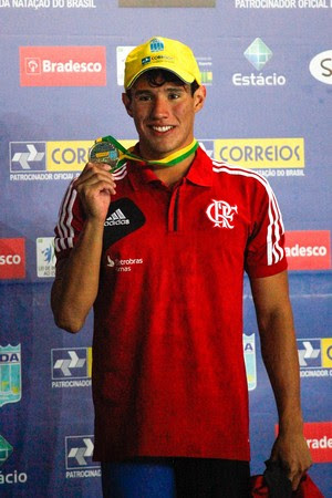 Luiz Altamir, natação, Flamengo, cearense (Foto: Gilvan de Souza / Flamengo)