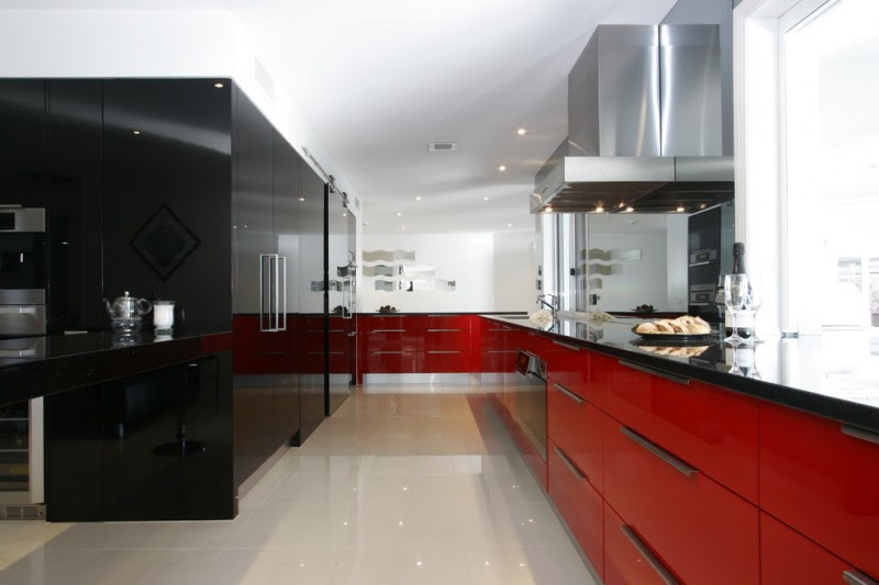 Enchanting Red And Black Kitchen Ideas You Need To Know Obsigen