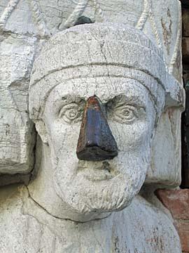 [merchant sculpture, venice]