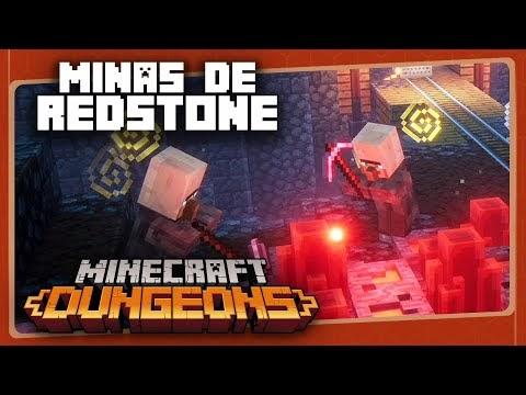 MINECRAFT DUNGEONS #4 - Minas de Redstone | Assista!