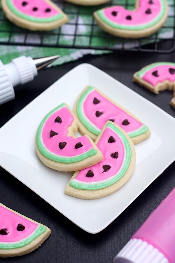 Erica S Sweet Tooth Watermelon Sugar Cookies
