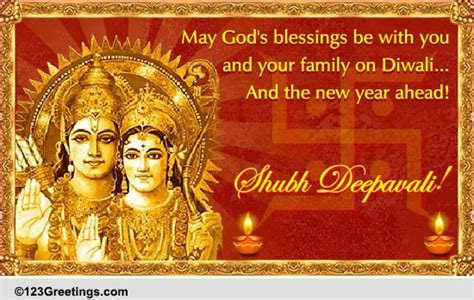 Religious Diwali Wish. Free Religious Blessings eCards