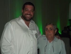 Anthony Armstrong substitui Orlando Caldas na presidência do Alecrim (Foto: Matheus Magalhães/GLOBOESPORTE.COM)