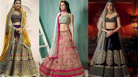 New Best Bridal Designer Lehenga Designs   Indian Bridal