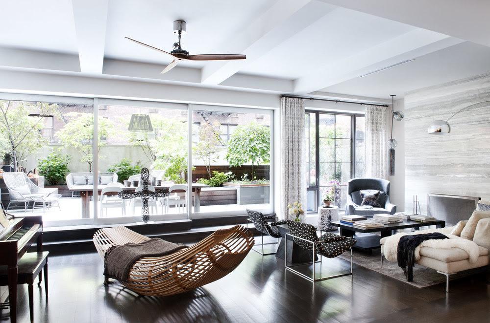Interiors A Modern Manhattan Home Sukio