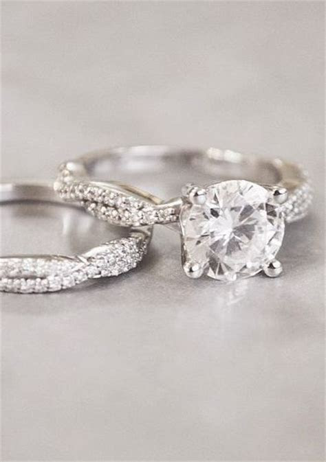 Twisted Vine Matched Ring Set   Jewelry   Pinterest