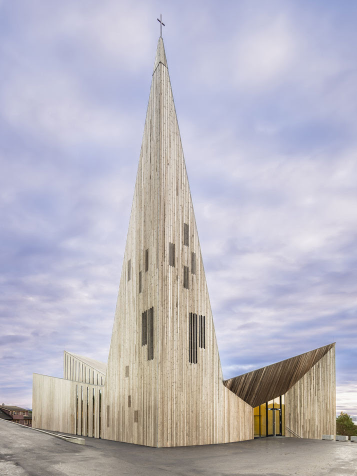Sacred modern architecture in Hordaland, Norway