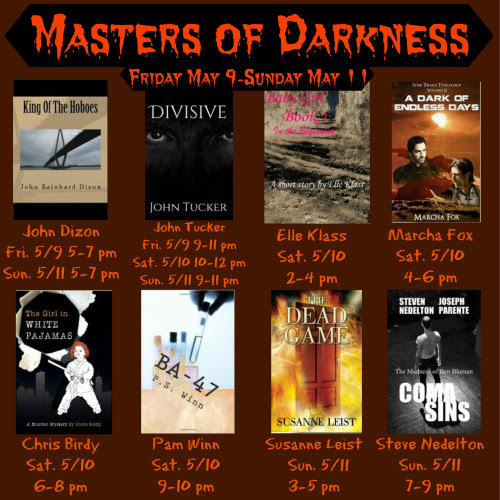 PARTY WITH THE DEAD   MASTERS OF DARKNESS WEEKEND https://www.facebook.com/events/1486910988189382/ COME AND SPEND MOTHER'S DAY WITH ME. WITH ME AND THE DEAD. THERE WILL BE GAMES AND PRIZES. AND WE KNOW FROM THE DEAD GAME THAT THE DEAD LOVE PARTIES AND GAMES. THE DEAD GAME by SusanneLeisthttp://www.amazon.com/author/susanneleist http://www.outskirtspress.com/thedeadgame