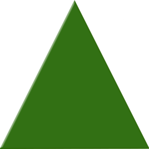 Green Triangle | Free Images at Clker.com - vector clip ...