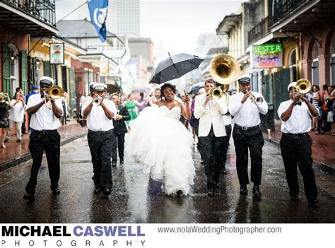 Kinfolk Brass Band Wedding Second Line Parade
