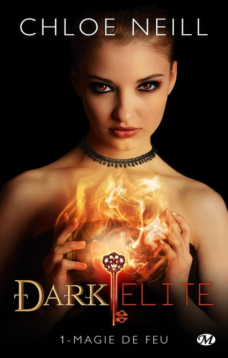 Couverture Dark Elite, tome 1 : Magie de feu