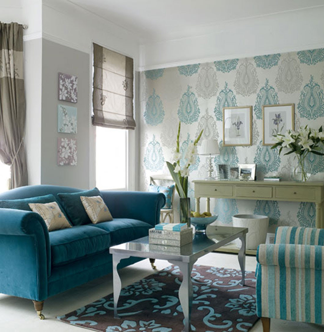 The Texture of Teal and Turquoise - A Bold and Beautiful ...