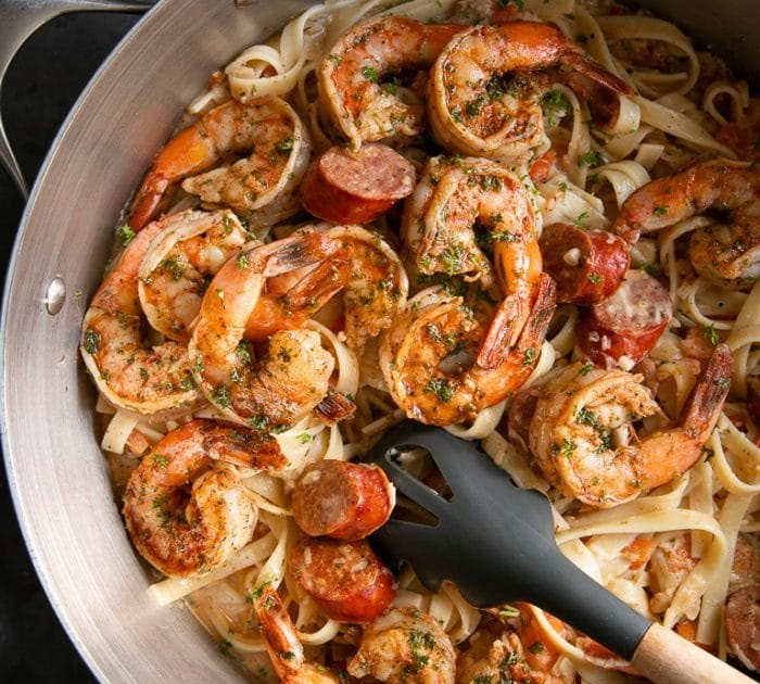Creamy Cajun Shrimp Pasta Recipes