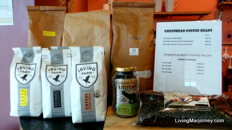 IRVING Farm & Green Bean Coffee