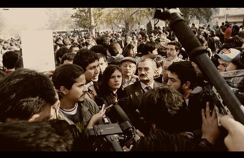 1 de Junio, conflicto estudiantil. by Manuel Venegas