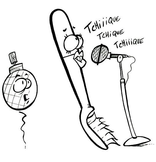 Coloriage Chanson Pour Enfants La Brosse à Dents Coloriage Chanson