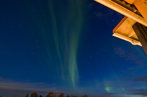 Aurora Borealis - viewed from my balcony