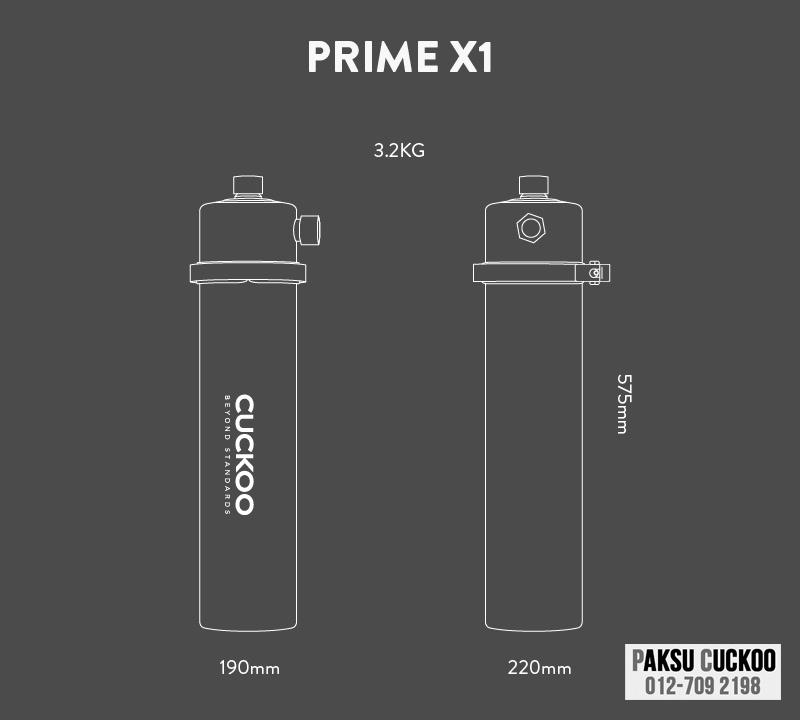 spesifikasi penapis air luar rumah johor cuckoo outdoor water filter yang terbaik murah berkualiti dengan jaminan dari cuckoo malaysia