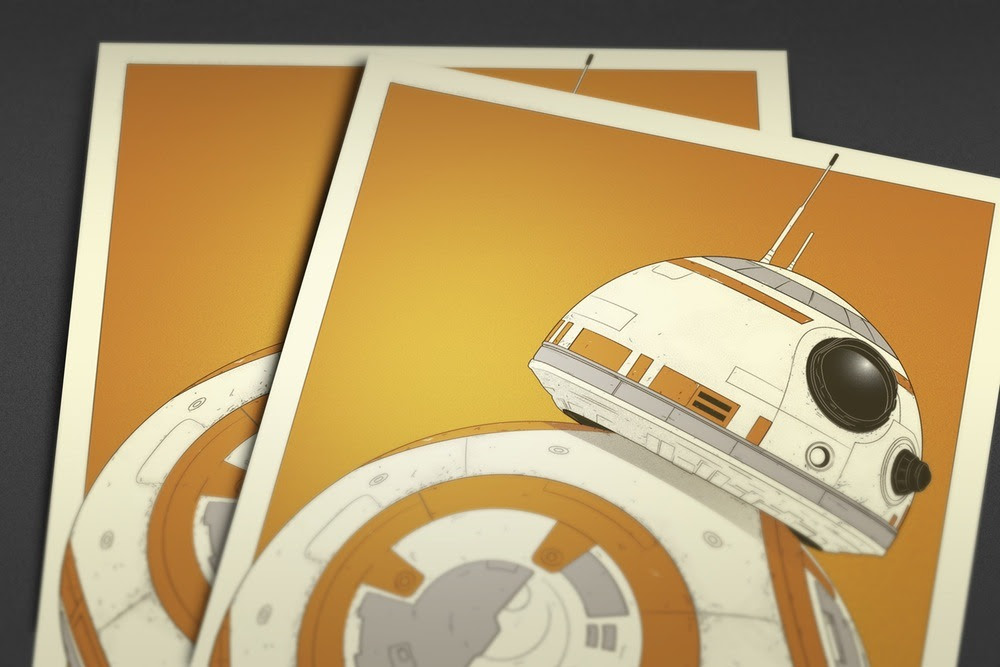 Star Wars: BB-8 - Created by Dylan WestPrints are available for sale at the Pixel Empire Shop.
