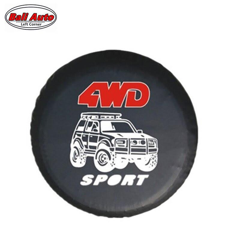 Left Corner Factory Direct Sale Pvc Car Spare Wheel Cover