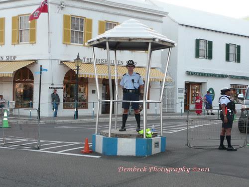 Hamilton Bermuda policeman