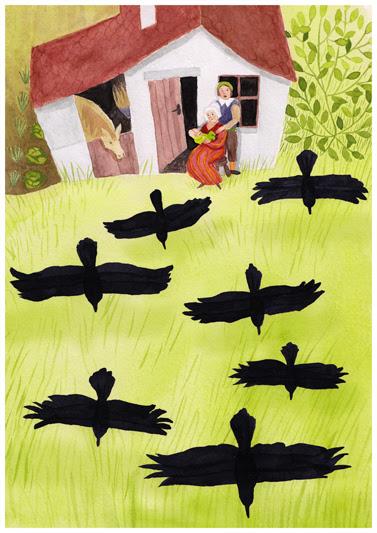 """Résultat de recherche d'images pour """"les sept corbeaux"""""""