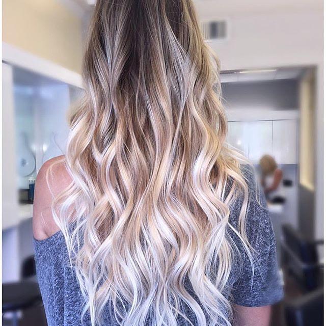 30 Balayage Long Hairstyles 2018  Balayage Hair Color Ideas: Blonde, Brown