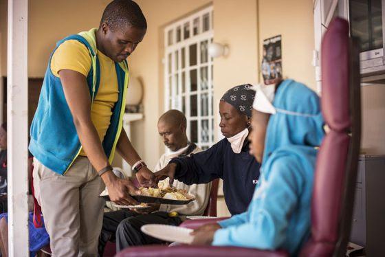 Clínica de tratamiento de tuberculosis Lizo Nobanda, en Ciudad del Cabo