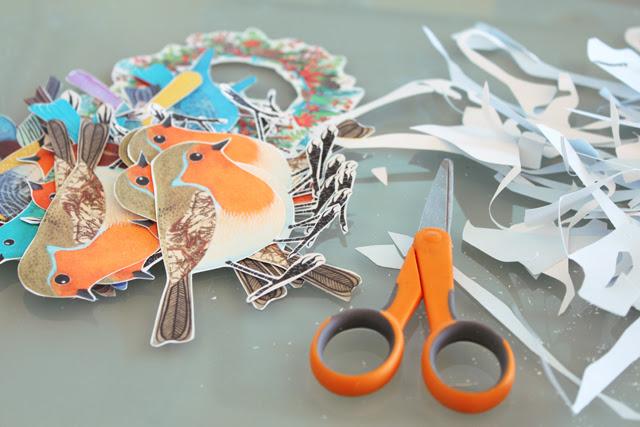 Cutting birds