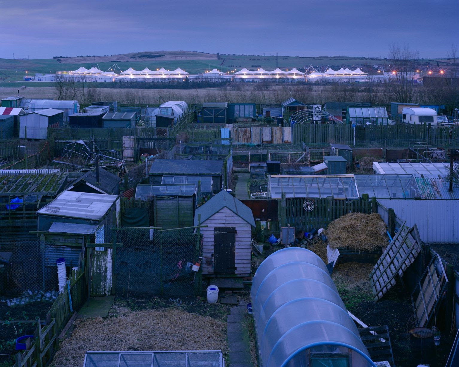 Dalton Park, 2005, by Simon Norfolk, from the exhibition For Ever Amber at Newcastle's Laing Art Gallery