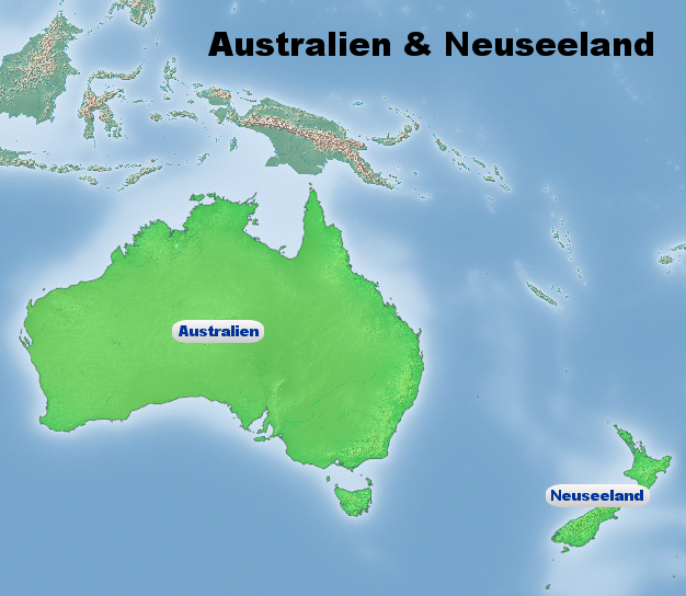 Ozeanien Klima: Klimatabelle, Temperaturen und beste Reisezeit