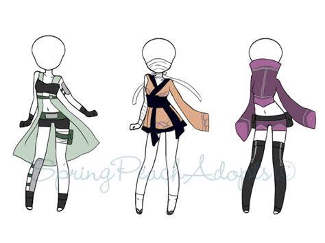 naruto outfit adopts  closed  springpeachadopts