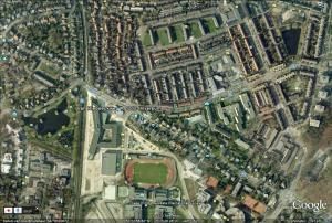 Van Riebeeckweg Hilversum luchtfoto