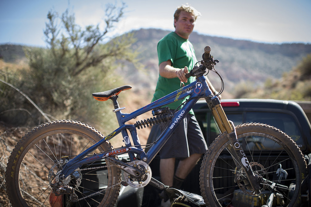 Greg Watts at Redbull Rampage 2012