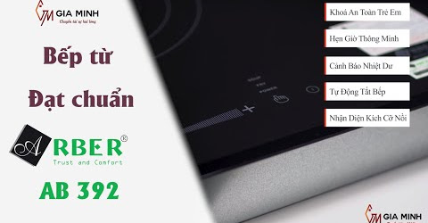 Bếp từ Arber AB 392 đạt chuẩn chất lượng Châu Âu - Giá chỉ 5tr9