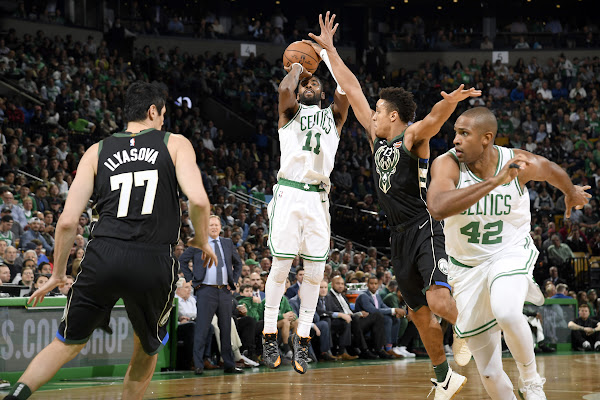2221c1c8a58f NBA s final undefeated team falls as Celtics nearly set NBA 3-point record  in win over Bucks