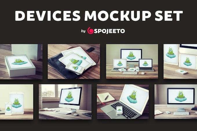 Photorealistic Devices Mock-Ups