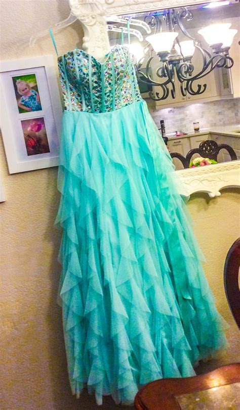 A Modest Dress for Mormon Prom Adding Sleeves to a