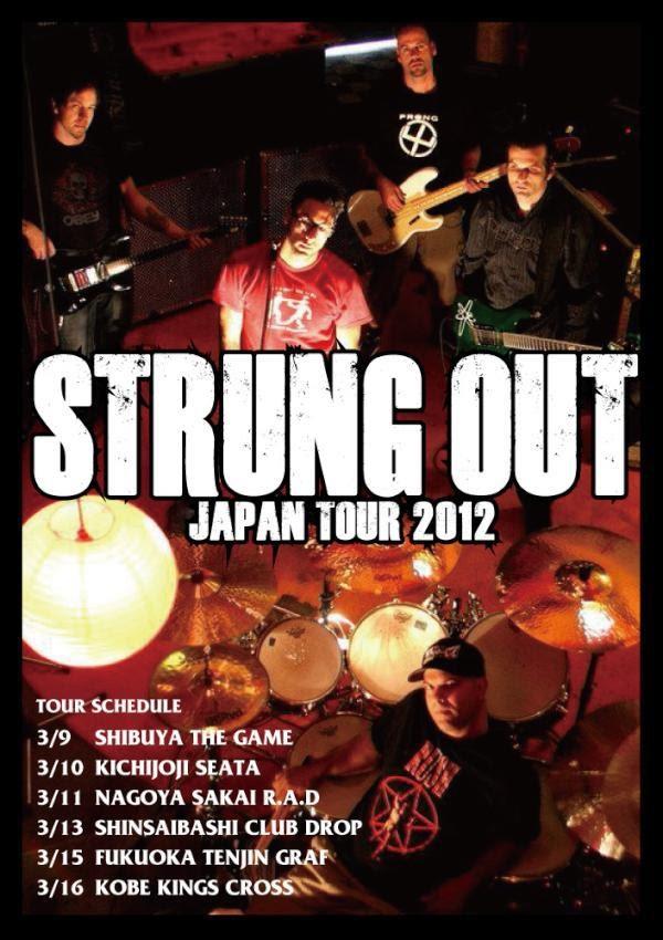 <center>[TOUR] Strung Out Japan Tour 2012</center>