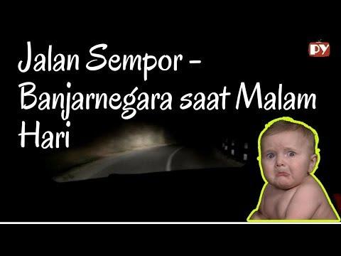 GELAP BANGETTT!! Beginilah Situasi Jalan Sempor-Banjarnegara kalau Malam