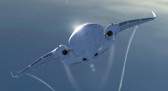 Isto é um avião ou uma baleia voadora?