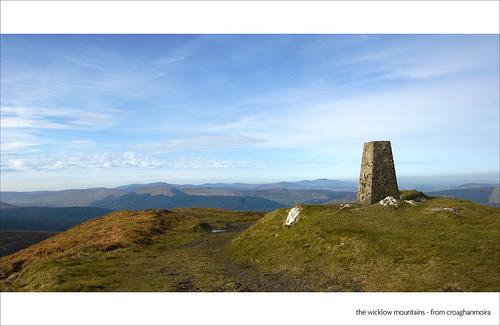 Wicklow Mountains from Croaghanmoira