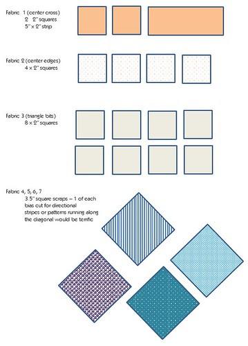 Bee Traditional Blocks - Fabrics