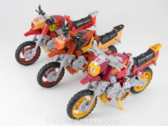 Transformers Junkheap Deluxe - Generations - modo alterno vs Junkions